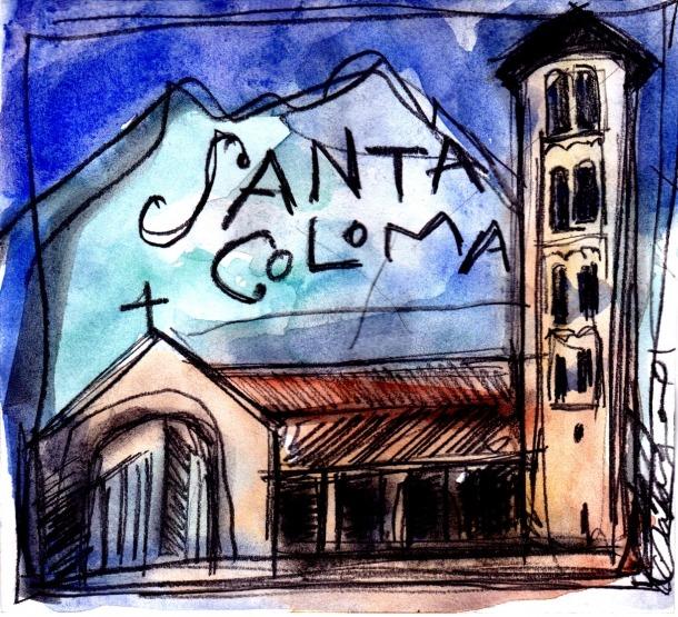 Santa Coloma, la verge de l'óssa