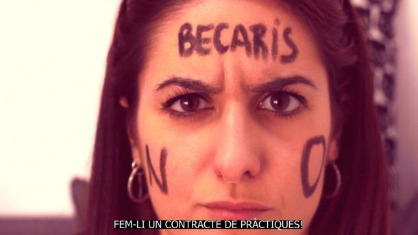 Eva Bosch, en plan paròdic-reivindicatiu, al vídeo: versiona Rosalía i descarrega la indignació d'anys de llegir ofertes de feina 'fastigoses'.