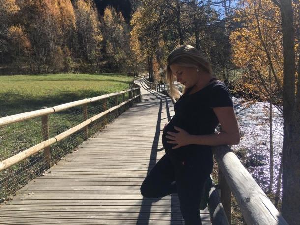 La Laia Ferré, ja en el compte enrere d'aquest embaràs en temps de coronavirus.