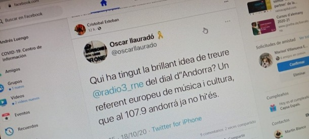 Les xarxes van recollir els comentaris entre estranyats i indignats dels seguidors de l'emblemàtica emissora espanyola, que no es podia sintonitzar.
