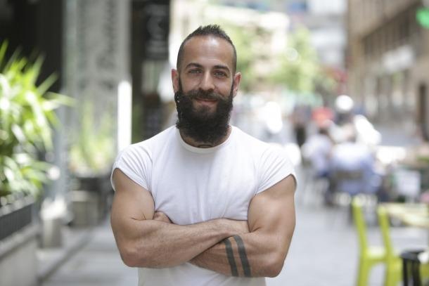 Haciane: en l'època que competia no podia dur aquesta frondosa barba.