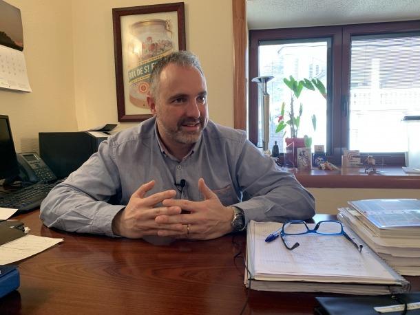 L'alcalde de la Seu d'Urgell i ara parlamentari, Jordi Fàbrega