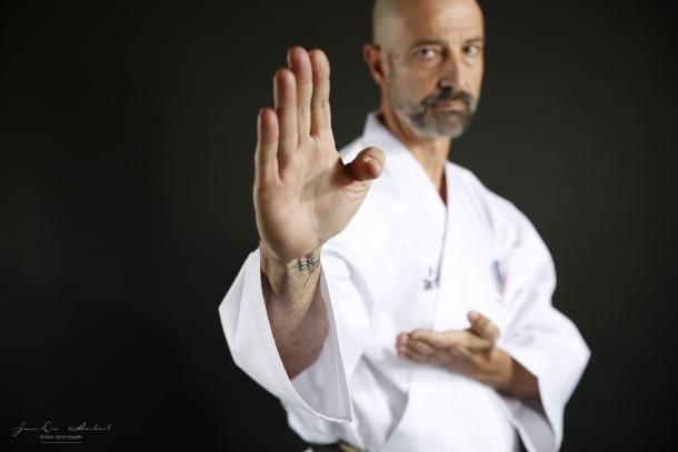 Xavier Herver, professor d'arts marcials.