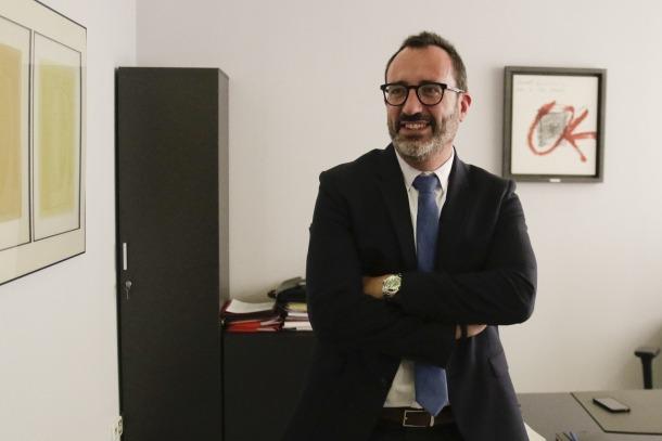El ministre de Territori i Habitatge, Víctor Filloy.