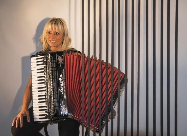 L'acordionista i docent.