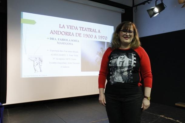 La filòloga Fabiola Sofia Masegosa.