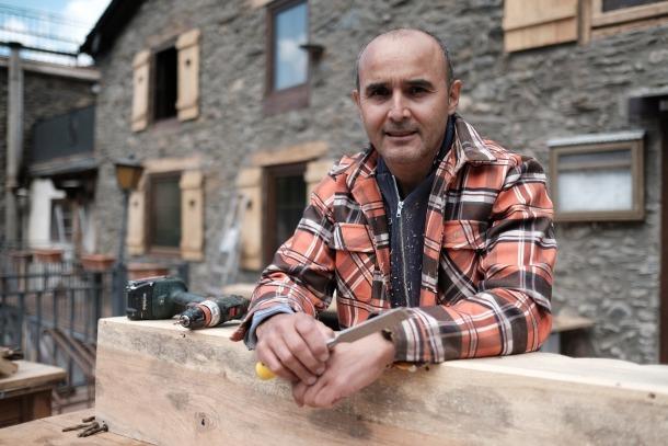 L'emprenedor, un argentí afincat a Andorra des de fa dues dècades.