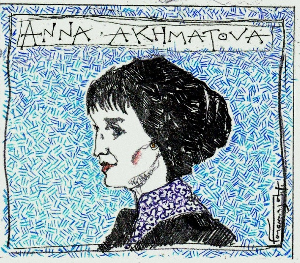 Anna Akhmàtova, la veu del vent