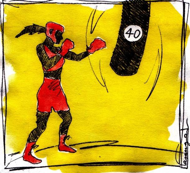 Crisi dels 40 i guants de boxa