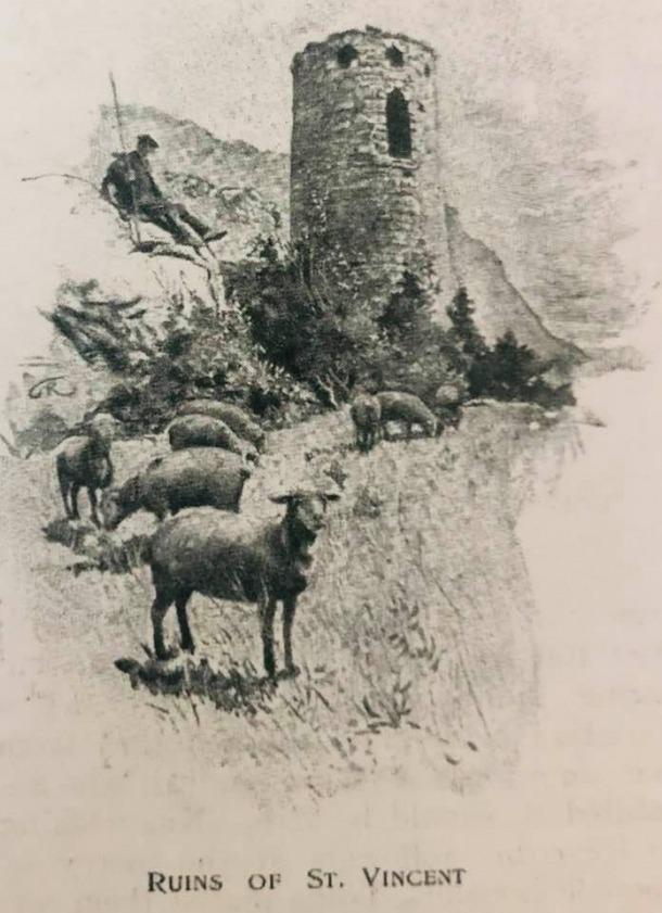 El campanar circular de Sant Vicenç d'Enclar