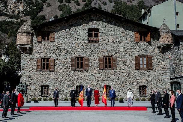 Visita dels reis d'Espanya a Andorra