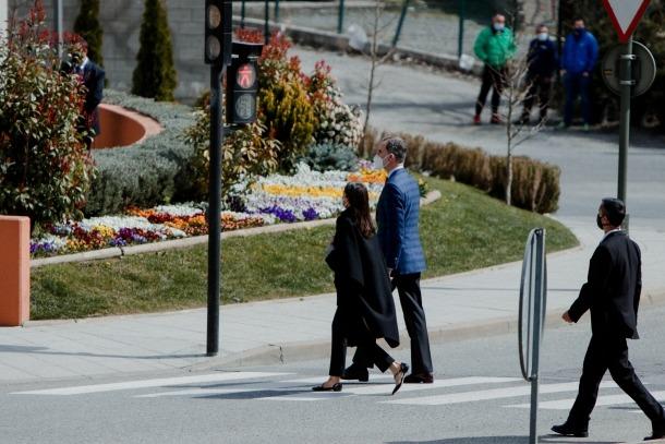 Visita dels reis d'Espanya a Andorra - Felipe VI - Letizia Ortiz - Andorra la Vella