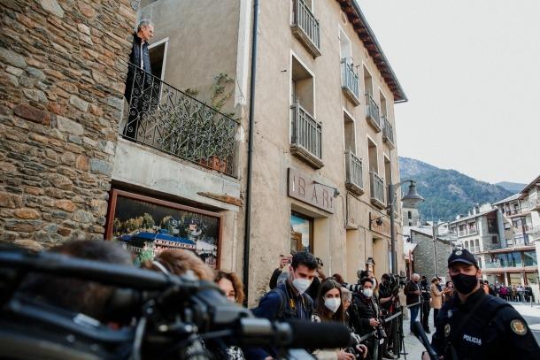 Visita dels reis d'Espanya a Andorra - Felipe VI - Letizia Ortiz - Ordino