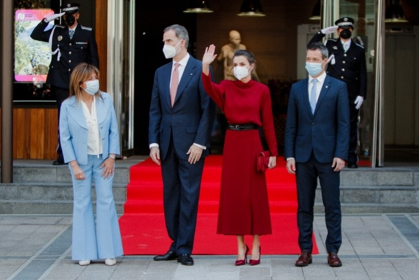 Visita dels reis d'Espanya a Andorra - Felipe VI Letizia Ortiz