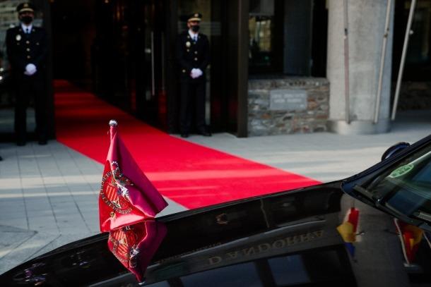 Visita dels reis d'Espanya a Andorra - Felipe VI - Letizia Ortiz