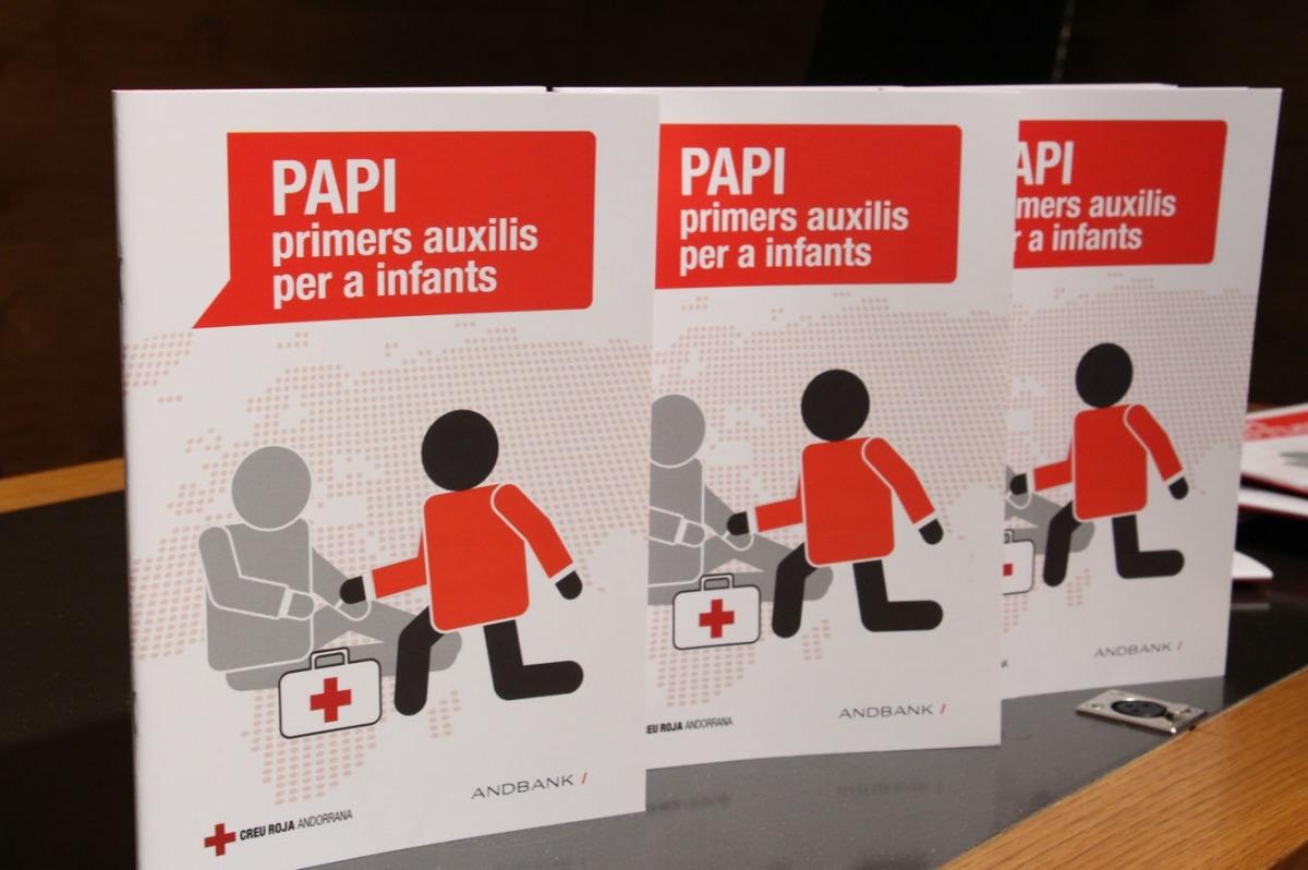 Andbank i la Creu Roja potencien el projecte PAPI, que pretén formar el 75% de la població en primers auxilisAndbank i la Creu Roja potencien el projecte PAPI, que pretén formar el 75% de la població en primers auxilis