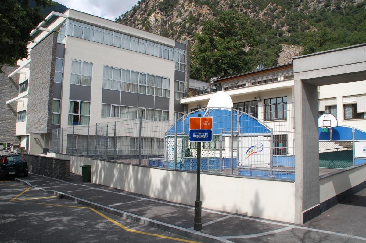 Vista de les instal·lacions de l'escola Meritxell.