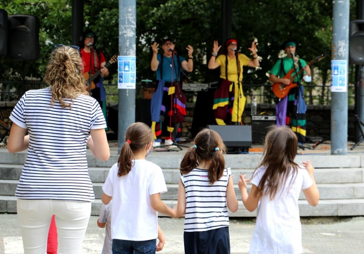 El ball infantil ha tingut lloc al Prat Gran.