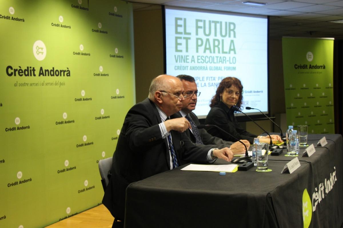 El turisme a l'era digital serà el tema de la següent conferència del 'Crèdit Andorrà Global Forum'