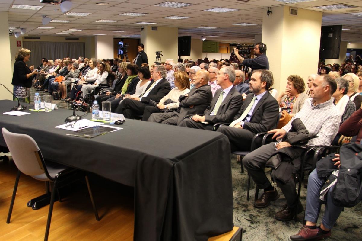 Conferència sobre la prevenció de l'Alzheimer del doctor Agustín Ruiz