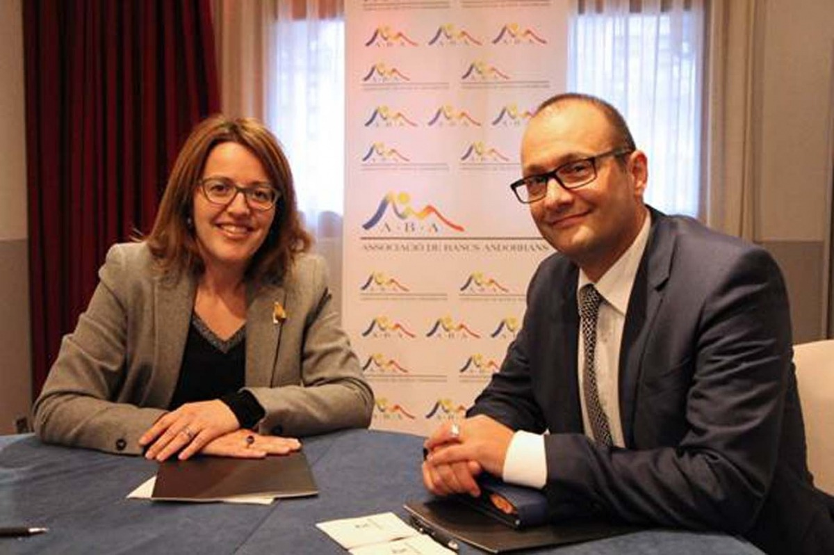 Intercanvi d'experiències entre les associacions de banca d'Andorra i Liechtenstein