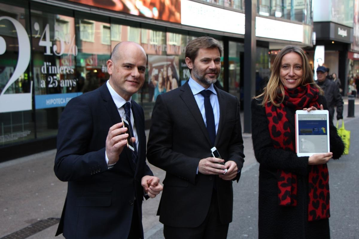 MoraBanc confia a doblar en un any l'ús de la banca digital amb el llançament d'una nova plataforma