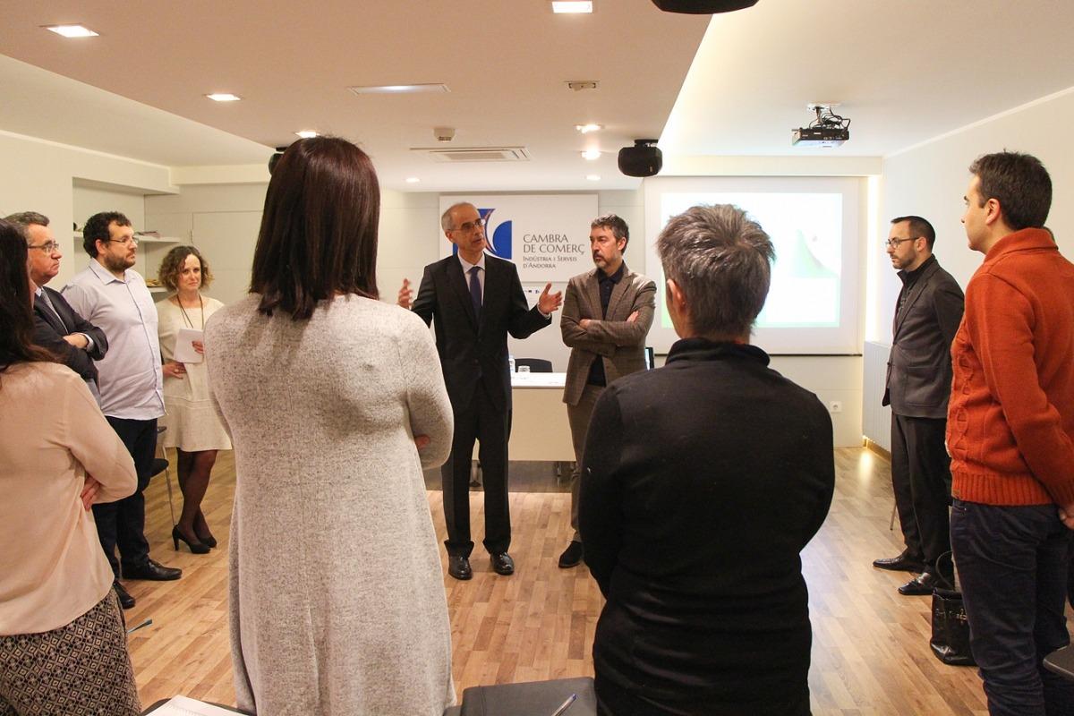 Les cambres de comerç de Girona, Lleida, Andorra i Perpinyà formen els seus tècnics per ajudar les PIME