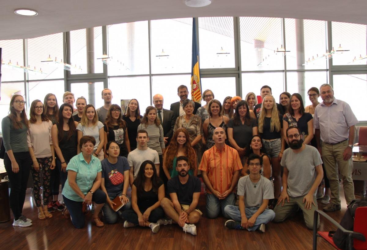 Arrenca la setmana a Andorra del 16è Campus universitari de la llengua catalana