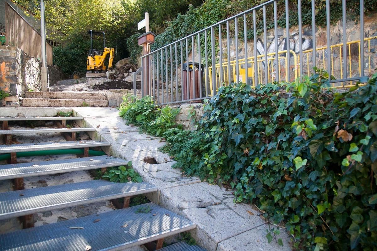Arrenquen les obres de millora del camí dels Marginets que han d'estar enllestides en un mes