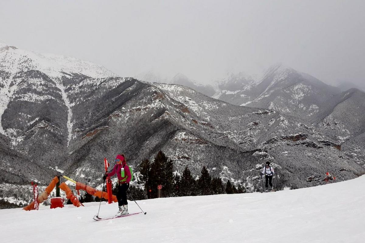 Les pistes d'esquí de Pal Arinsal.