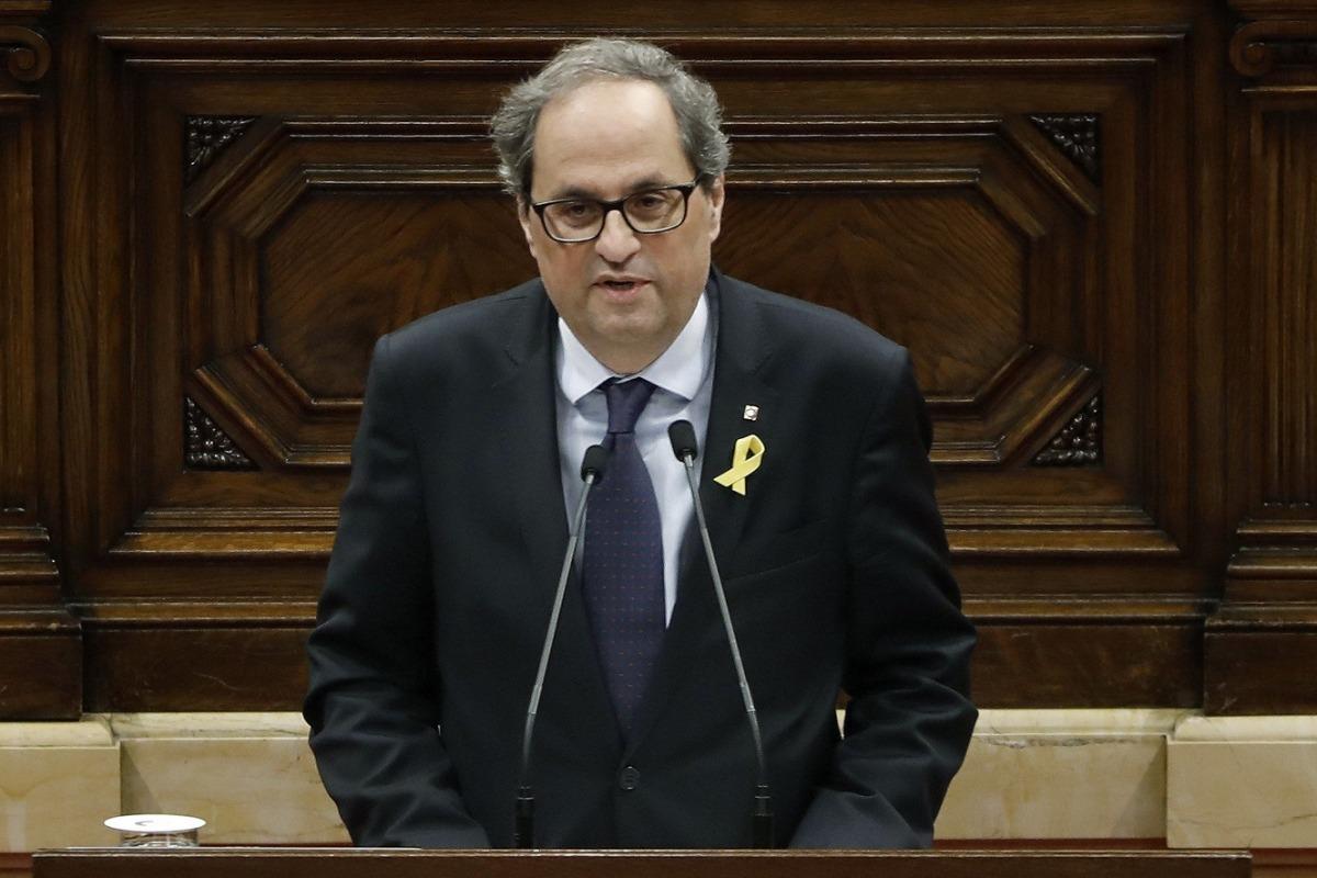 EFE/ El president de la Generalitat de Catalunya, Quim Torra.