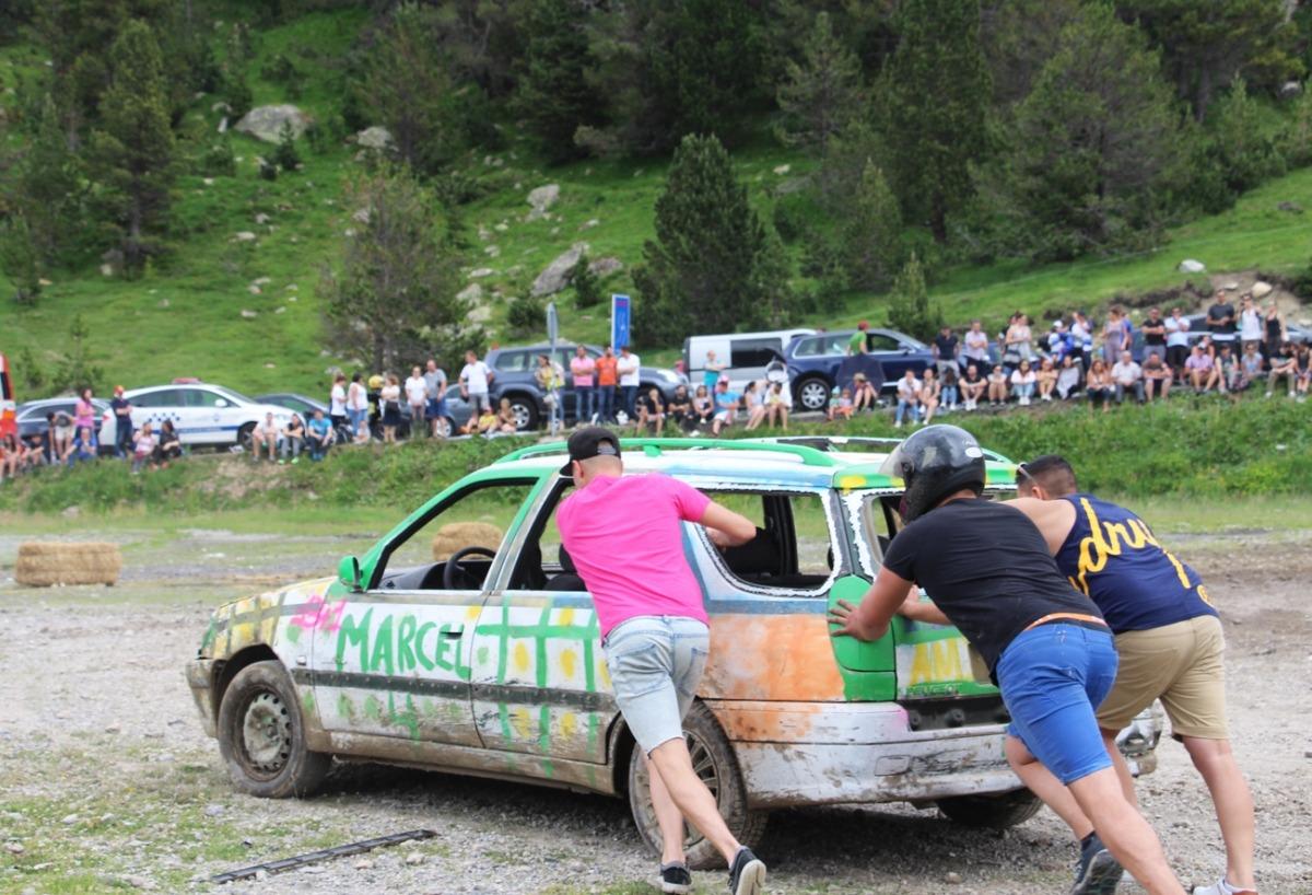 El tradicional Crash Car.