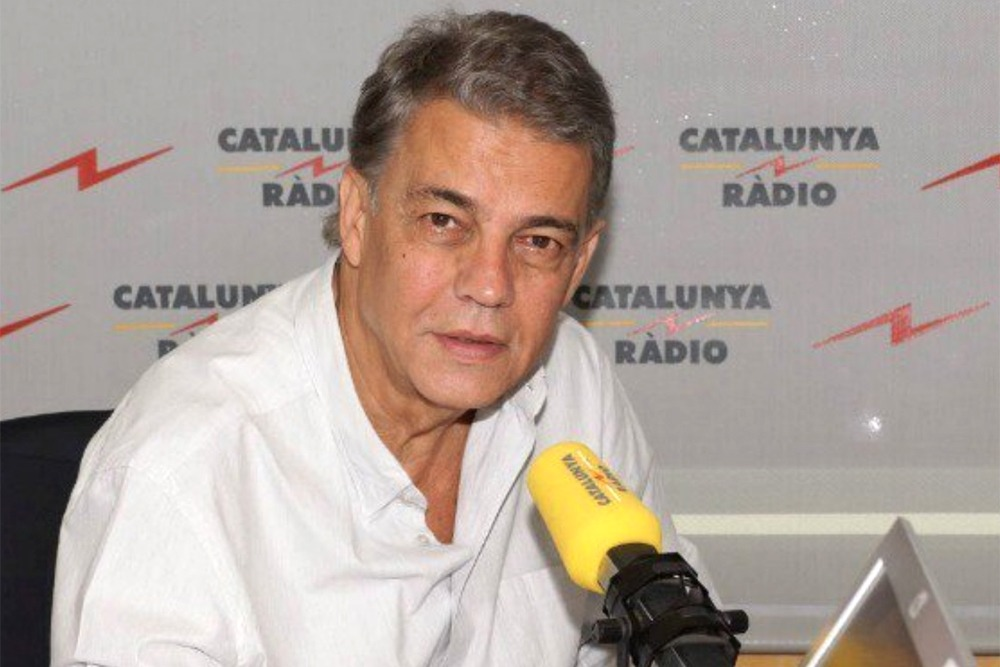 El periodista radiofònic Joaquim Maria Puyal.