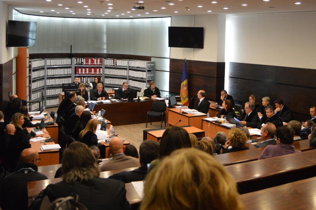 Imatge del judici del 'cas BPA'.