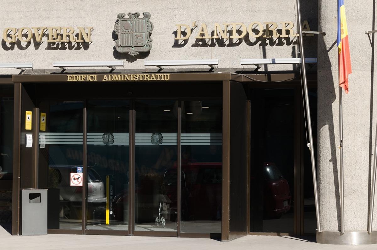 Una imatge de l'edifici administratiu del Govern.