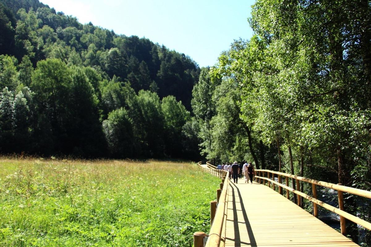 El camí ral vol unir les valls centrals amb la vall de Sorteny.