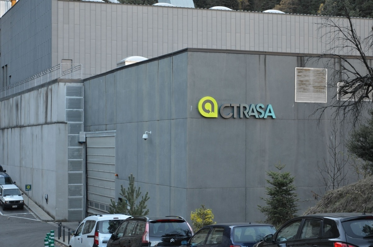 El Centre de Tractament de Residus.