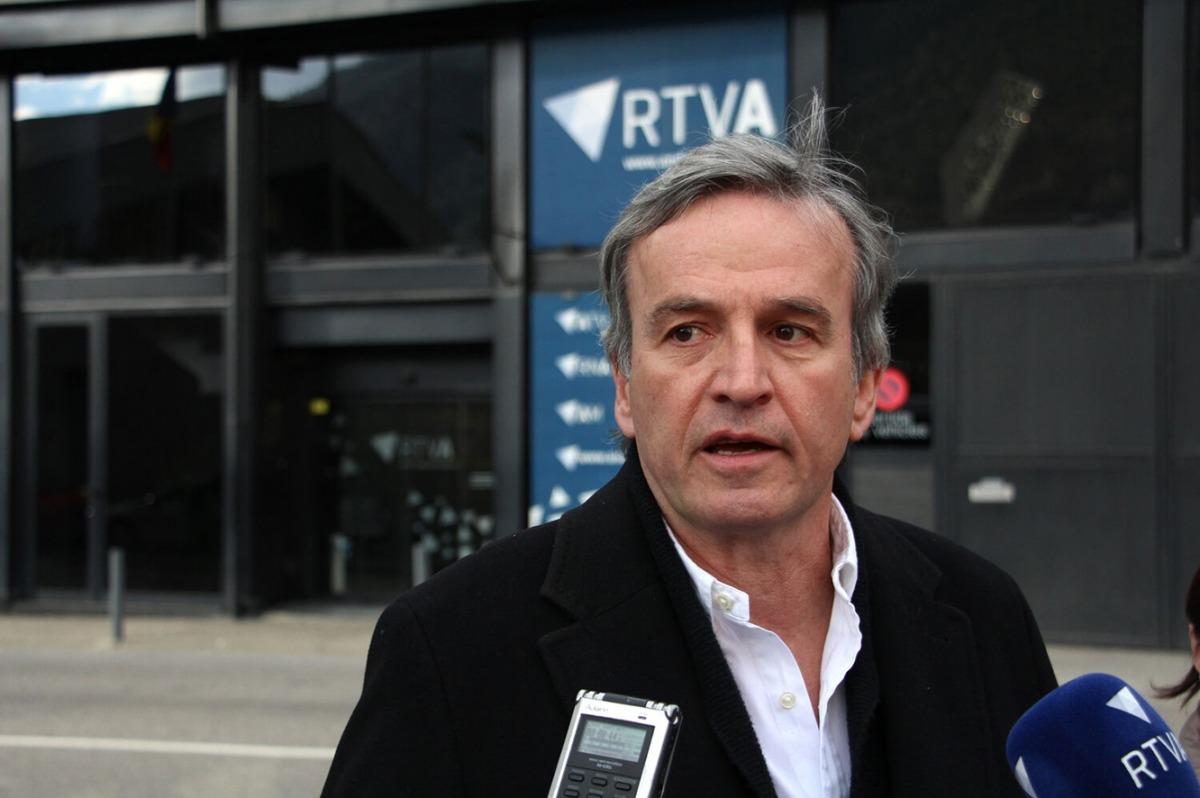 El candidat d'Andorra Sobirana, Eusebi Nomen.