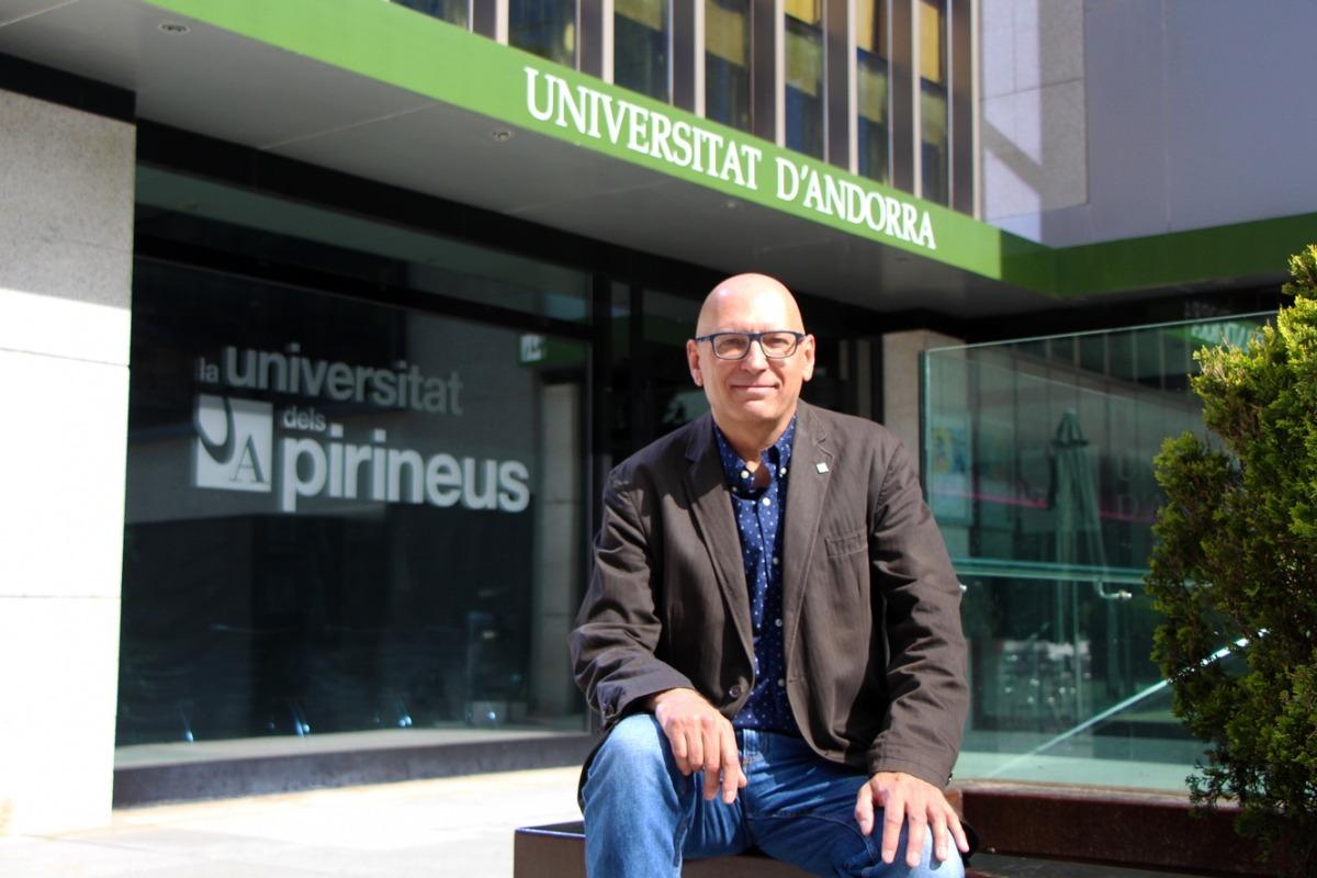 Miquel Nicolau ha estat reelegit com a rector de la Universitat d'Andorra.