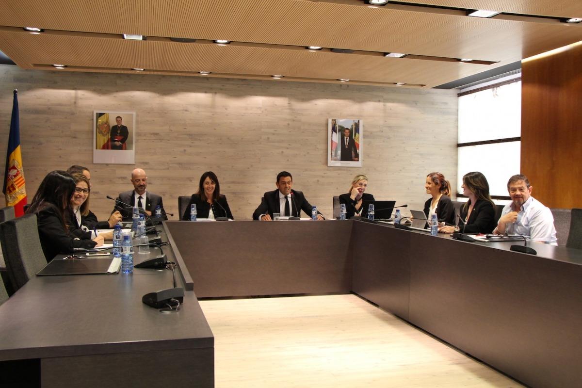 Un moment del consell de comú d'Ordino celebrat aquest dijous.
