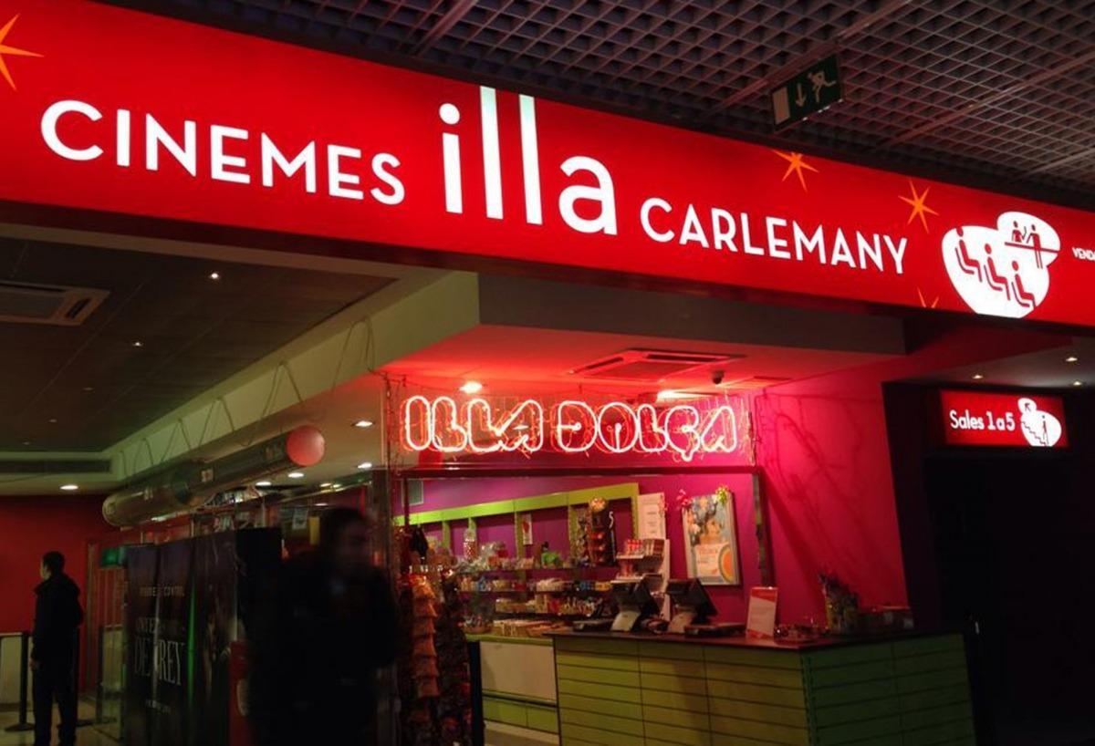 Els cinemes illa Carlemany.