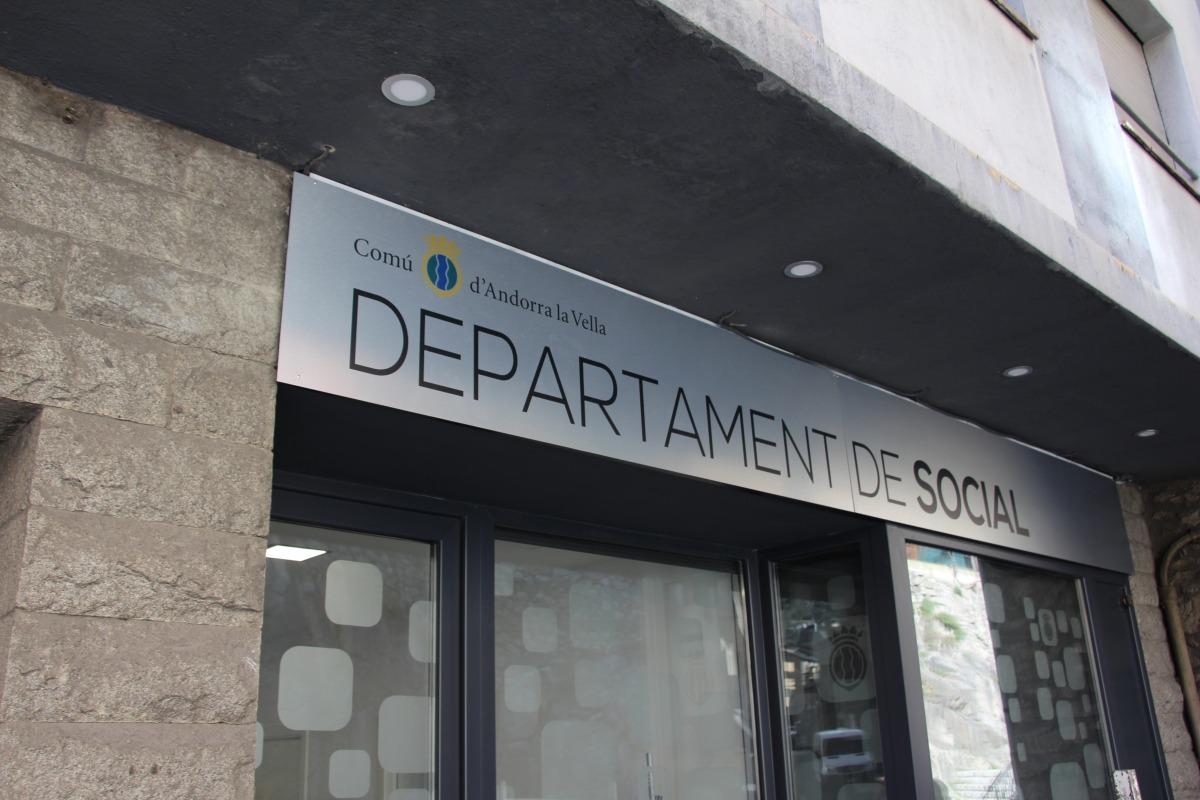 Nou local del departament de Social d'Andorra la Vella.