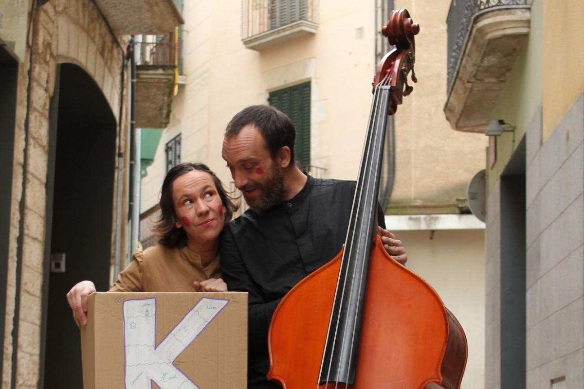 Els protagonistes de l'espectacle 'Kaixes'.