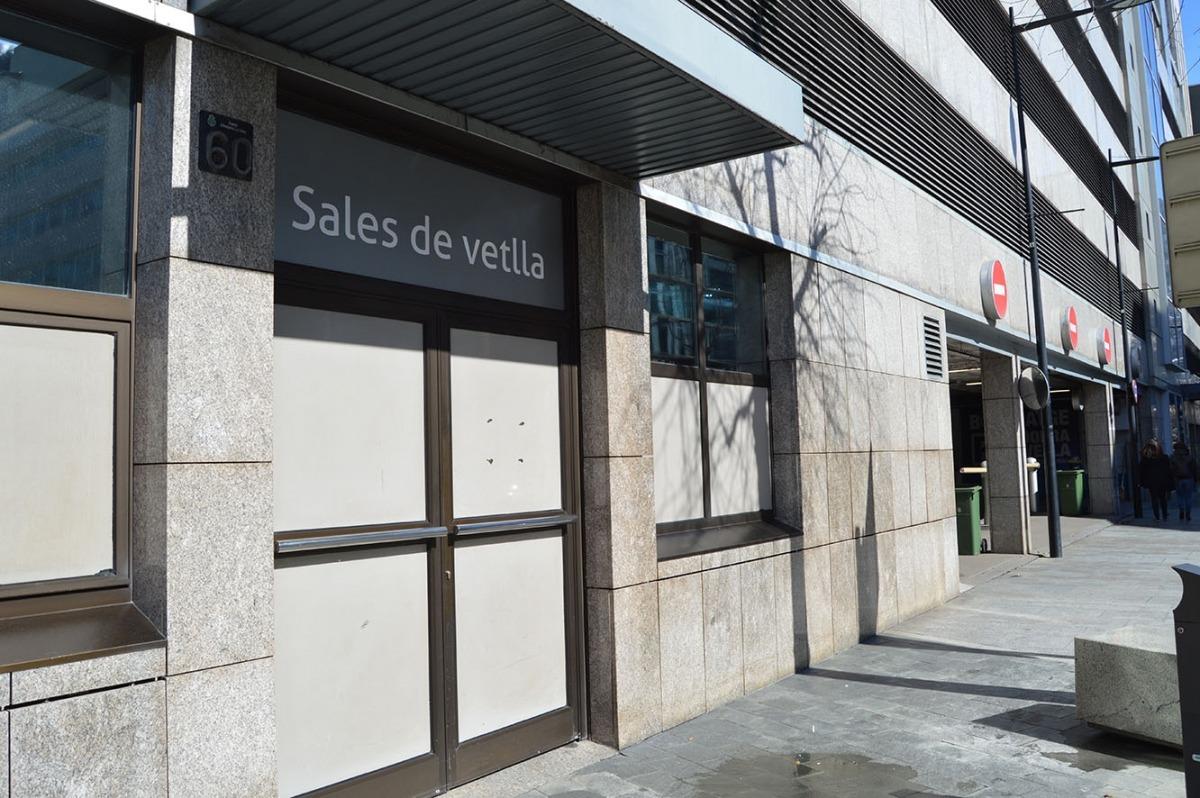 La sala de vetlles d'Andorra la Vella.