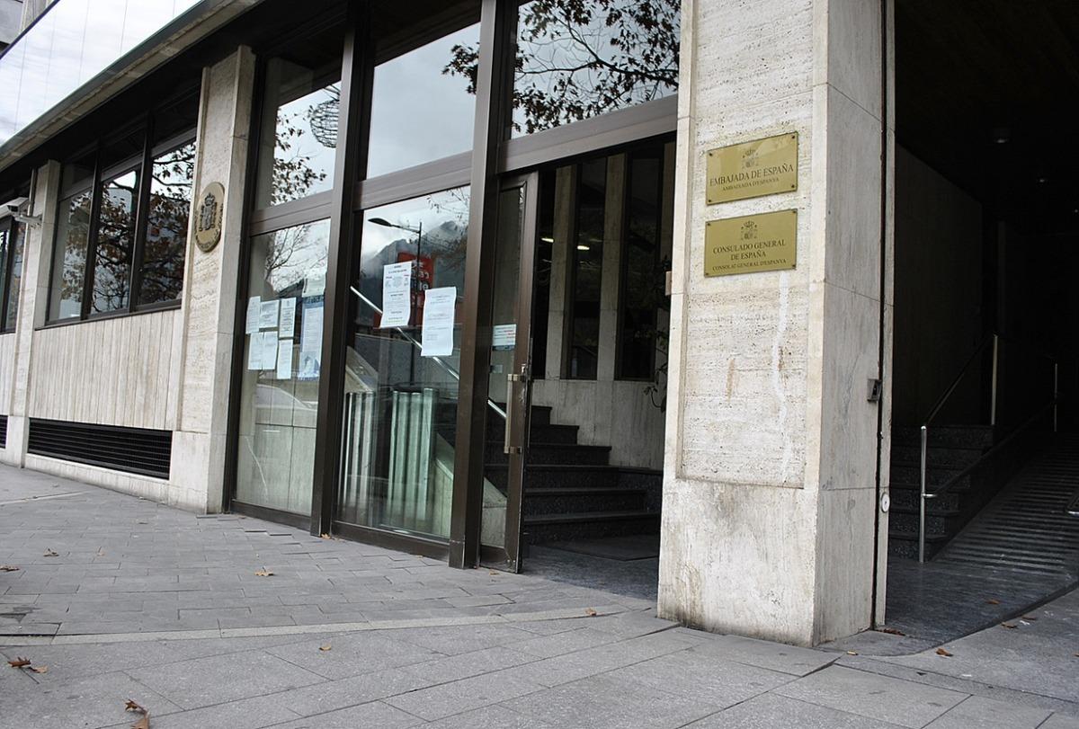 L'ambaixada i consolat d'Espanya a Andorra.