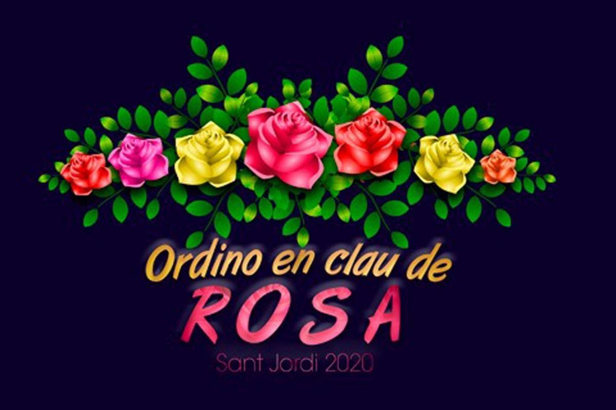 El cartell per a la celebració de Sant Jordi.
