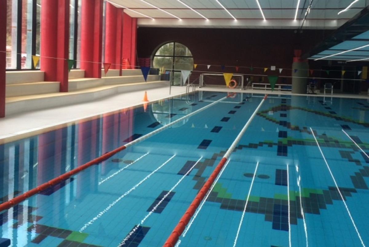El centre esportiu d'Ordino.