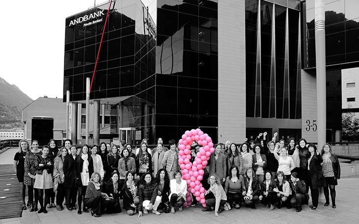 Imatge d'una altra iniciativa d'Andbank per la lluita contra el càncer.