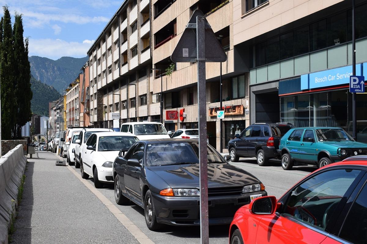 El carrer Prada Motxilla, on es faran reformes en breu.