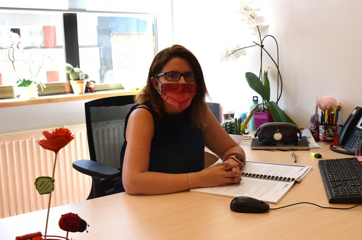 La cap de l'àrea de Polítiques d'Igualtat del ministeri d'Afers Socials, Habitatge i Joventut, Mireia Porras.